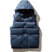 キャンプシェラベスト CAMP Sierra Vest NY81932 (BT)ブルーT XLサイズ [アウトドア ダウンベスト メンズ]