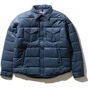 キャンプシエラスタッフドシャツ Camp Sierra Stuffed Shirt NY81933 (BT)ブルーウィングティール Mサイズ [アウトドア 中綿ウェア メンズ]