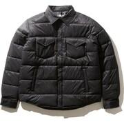 キャンプシエラスタッフドシャツ Camp Sierra Stuffed Shirt NY81933 (K)ブラック Sサイズ [アウトドア 中綿ウェア メンズ]