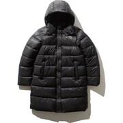 キャンプシェラロングコート CAMP Sierra Long Coat NYW81934 (K)ブラック XLサイズ [アウトドア ダウンウェア レディース]