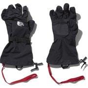 マウンテンシェルグローブ MT Shell Glove NN61801 (K)ブラック Lサイズ [アウトドア グローブ]