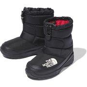 ヌプシブーティーVI K Nuptse Bootie VI NFJ51981 (KK)TNFブラック 14cm [防寒ブーツ キッズ]
