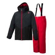SUIT DWMMJH70 BLK Sサイズ [スキーウェア スーツ メンズ]