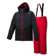 SUIT DWMMJH70 BLK Oサイズ [スキーウェア スーツ メンズ]