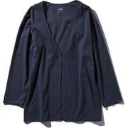 Tech Lounge Cardigan NTW11961 (UN)アーバンネイビー Sサイズ [アウトドア カットソー レディース]