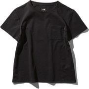 ショートスリーブエアリーポケットティー S/S Airy Pocket Tee NTW11968 (K)ブラック Lサイズ [アウトドア カットソー レディース]