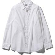 ロングスリーブノーザンハリアーシャツ L/S Northern Harrier Shirt NRW11953 (W)ホワイト Sサイズ [アウトドア シャツ レディース]