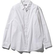 ロングスリーブノーザンハリアーシャツ L/S Northern Harrier Shirt NRW11953 (W)ホワイト Lサイズ [アウトドア シャツ レディース]