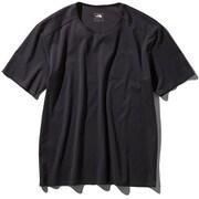 テックラウンジショートスリーブティー Tech Lounge S/S Tee NT11963 (K)ブラック Mサイズ [アウトドア カットソー メンズ]