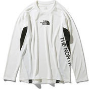 L/S FLASHDRY Racing Crew NT11996 (W)ホワイト XLサイズ [アウトドア カットソー メンズ]