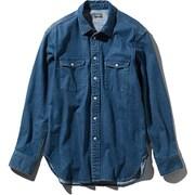 ロングスリーブカンタベリーベルズシャツ  L/S Canterbury Bells Shirt NR11950 (BL)ブリーチ Lサイズ [アウトドア カットソー メンズ]