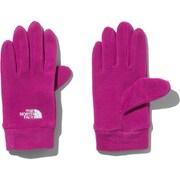 Kids Micro Fleece Glove NNJ61705 RX Mサイズ [アウトドア グローブ キッズ]