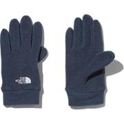 Kids Micro Fleece Glove NNJ61705 UN Lサイズ [アウトドア グローブ キッズ]