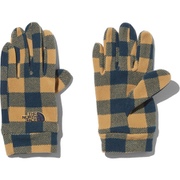 Kids Novelty Fleece Glove NNJ61706 BK Lサイズ [アウトドア グローブ キッズ]