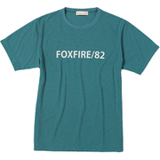 CシールドFFロゴ T S/S C-SHIELD FF LogoT S/S 5215825 (061)ティール XLサイズ [アウトドア カットソー メンズ]