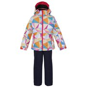 Snow Crystal Kids Two-piece PS7H22P75 MULTI 90cm [スキーウェア ジュニア]