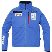 Norway Team Junior Soft Shell Jacket PF7G2KT00 BL 130cm [スキーウェア ジュニア]