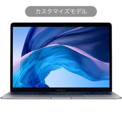 MacBook Air 13インチ 1.6GHzデュアルコア第8世代Intel Core i5プロセッサ 128GB SSD 16GBメモリ 日本語(JIS)キーボード カスタマイズモデル(CTO) スペースグレイ [Z0X10002H]