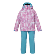 Snow Crystal kids Two-piece PS8H22P75 PK 110cm [スキーウェア ジュニア]