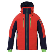 Demo Team Block Jacket PF872OT13 FLRD Sサイズ [スキーウェア ジャケット メンズ]