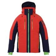 Demo Team Block Jacket PF872OT13 FLRD Mサイズ [スキーウェア ジャケット メンズ]