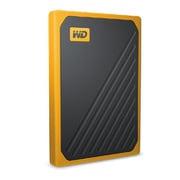 WDBMCG5000AYT-WESN [My Passport Go 500GB イエロー/ポータブルSSD/耐衝撃/自動バックアップ/Windows Mac対応 PS4対応]