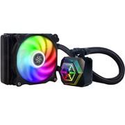 SST-PF120-ARGB [RGB対応水冷クーラー リフィル不要簡易水冷 Inte/AMD ソケット対応ラジエーター]