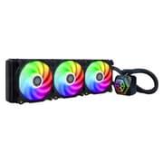 SST-PF360-ARGB [RGB対応水冷クーラー リフィル不要簡易水冷 Inte/AMD ソケット対応大型ラジエーター]