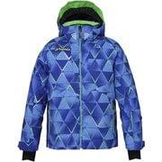 ノルウェーアルパインチーム ジュニア ジャケット PF9G2OT00 ブルー 160cm [スキーウェア ジュニア]