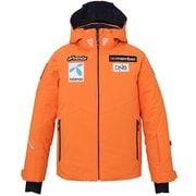 NORWAY ALPINE JR. JACKET PF9G2OT00 ビビッドオレンジ 150cm [スキーウェア ジュニア]