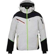 デモ ゲーム プロ ジャケット PF972OT10 (OW)オフホワイト Lサイズ [スキーウェア ジャケット メンズ]