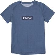 phenix Box Logo S/S PH922TS80 IND Mサイズ [アウトドア カットソー レディース]