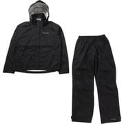シンプソンサンクチュアリレインスーツ PM0124 (010)Black Mサイズ [アウトドア レインウェア メンズ]