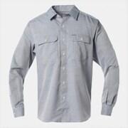 キャニオンソリッドロングスリーブシャツ OE7043 489_PHOENIX BLUE Lサイズ [アウトドア シャツ メンズ]