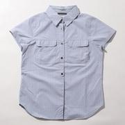 ピルスナーピークノベルティショートスリーブシャツ AR1926 032 CIRRUS GREY ST Lサイズ [アウトドア シャツ レディース]