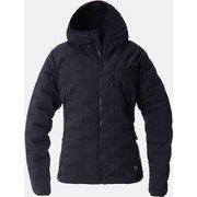 スーパーDSフーデッドJK Super/DS Stretchdown Hooded Jacket OL7673 010 Black Sサイズ [アウトドア ダウンウェア レディース]