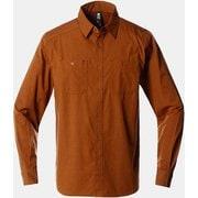 リベッターツイルロングスリーブシャツ OE2267 233 Golden Brown Sサイズ [アウトドア シャツ メンズ]
