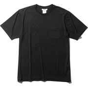 ファインドライ ショートスリーブポケットクルー SHORT SLEEVE POCKET CREW MX19301 (K)ブラック Sサイズ [アウトドア カットソー メンズ]