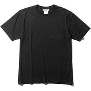 ファインドライ ショートスリーブポケットクルー SHORT SLEEVE POCKET CREW MX19301 (K)ブラック Lサイズ [アウトドア カットソー メンズ]