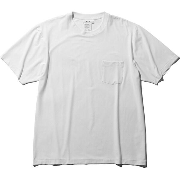 ファインドライ ショートスリーブポケットクルー SHORT SLEEVE POCKET CREW MX19301 (W)ホワイト Sサイズ [アウトドア カットソー メンズ]