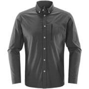 ブルーン ロングスリーブ シャツ Brunn LS Shirt Men 604395 2AT_Magnetite Mサイズ [アウトドア 長袖シャツ メンズ]