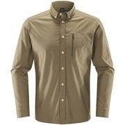 Brunn LS Shirt Men 604395 2AV _Dune XLサイズ [アウトドア シャツ メンズ]