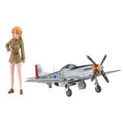 SP431 ストライクウィッチーズ シャーロット・E・イエーガー w/P-51D ムスタング 1/72 [プラモデル]