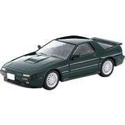 LV-N 日本車の時代14 1/64 マツダ サバンナ RX-7 アンフィニ 緑 91年式 [ダイキャストミニカー]