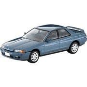 LV-N194b 1/64 日産 スカイライン 4ドアスポーツセダン GTS25 タイプX・G 青 91年式 [ダイキャストミニカー]