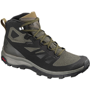 OUTline MID GORE-TEX L40476300 BLACK/BELUGA/CAPERS 26.5cm [トレッキングシューズ メンズ]