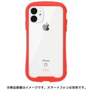 iFace Reflection RD [iPhone 11 専用 iFace Reflection強化ガラスクリアケース(レッド)]