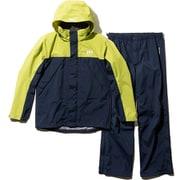 Helly Rain Suit HOE11900 (YG)イエローグリーン WLサイズ [アウトドア レインウェア レディース]