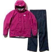 ヘリーレインスーツ Helly Rain Suit HOE11900 (P)パープル WSサイズ [アウトドア レインウェア レディース]
