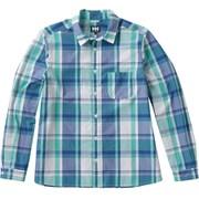 ロングスリーブ PE チェックシャツ W L/S PE CHECK SHIRT HOW41802 (RG)リバーグリーン WMサイズ [アウトドア シャツ レディース]